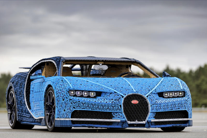 Check Out This Life Size Lego Technic Bugatti Chiron Model
