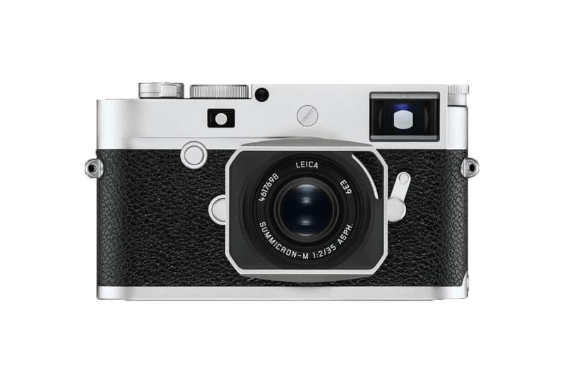 Leica M10-P Camera Details Stealth Discrete Discretion Cop Purchase Buy $7995 USD Black Silver Chrome Colorway M10 24 Megapixel Full-Frame Sensor Maestro II Image Processor Touchscreen Live View Tech Technology