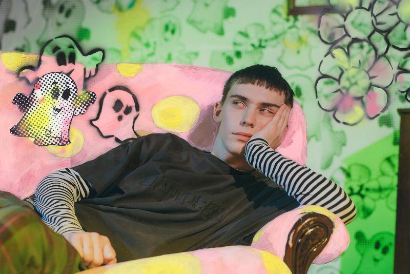 Liam Hodges Fall/Winter 2018 Campaign Autumn Collection Mr. Blobby Inspired Available Dover Street Market London Store Shop Basement Floor
