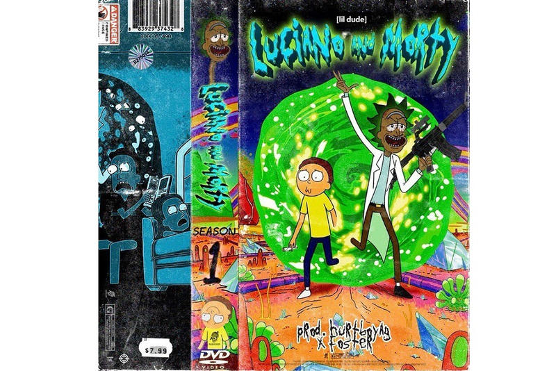 lil dude luciano n morty stream new 2018 song music mixtape project september 26 fenix flexin hundred band jug dmv