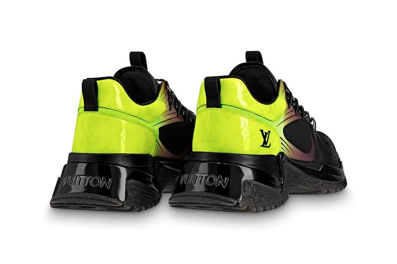 dfdc2a0bc8d3 Louis Vuitton Run Away Pulse Sneaker Release Silver Grey Monogram Titanium  finish White Orange Fluo canvas
