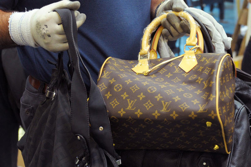 $500 Million Worth of Fake Luxury Goods Seized Gucci Prada
