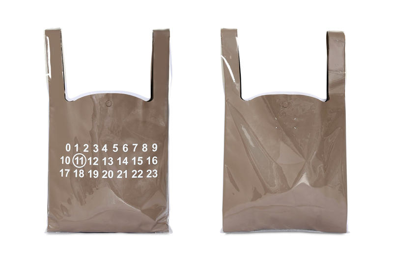 Maison Margiela Fall Winter 2018 PVC Tote Bags leather black white brown release info accessories
