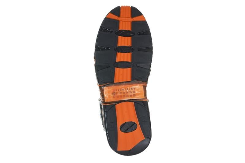 Maison Margiela Fusion Sneakers Black Orange blue silver release info sneakers H.LORENZO