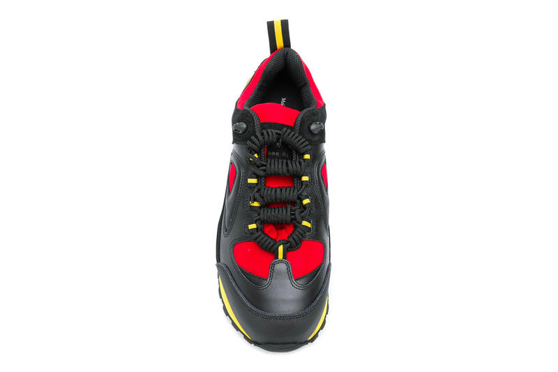 Maison Margiela Twist Lace-Up Sneaker release info black red yellow