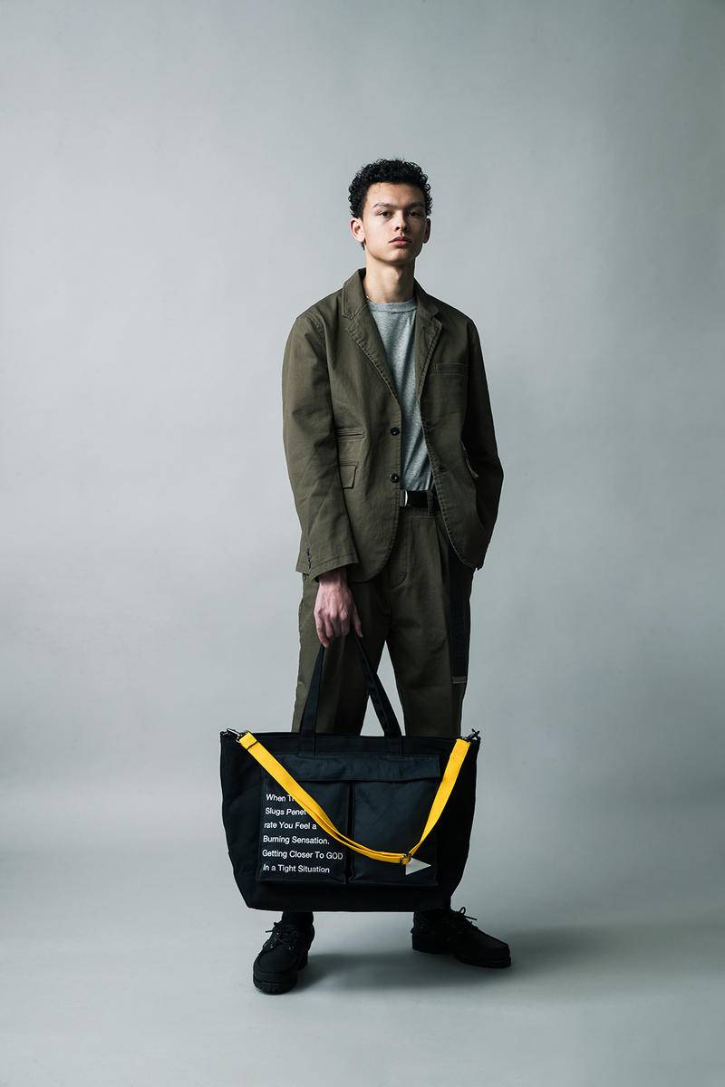 MAKAVELIC Fall Winter 2018 Collection Lookbook bags accessries outerwear jackets pullovers shirts