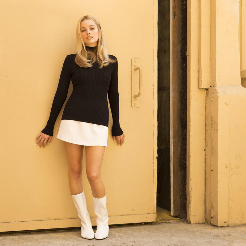 Margot Robbie Quentin Tarantino Once Upon a Time in Hollywood First Look Sony Pictures Leonardo DiCaprio Brad pitt
