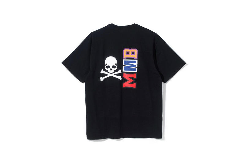 mastermind vs BAPE Collaboration Announcement Skulls Black Shark Jacket