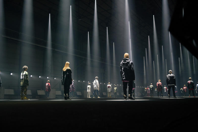 MASTERMIND WORLD Fall/Winter 2018 Runway Scene 1 Mission Collection FW18