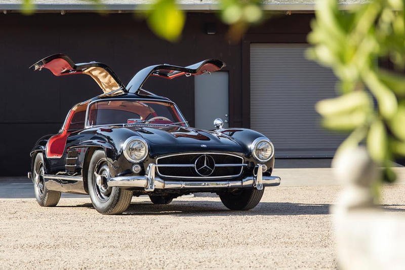 mercedes benz gullwing coupe 1955 at auction hypebeast