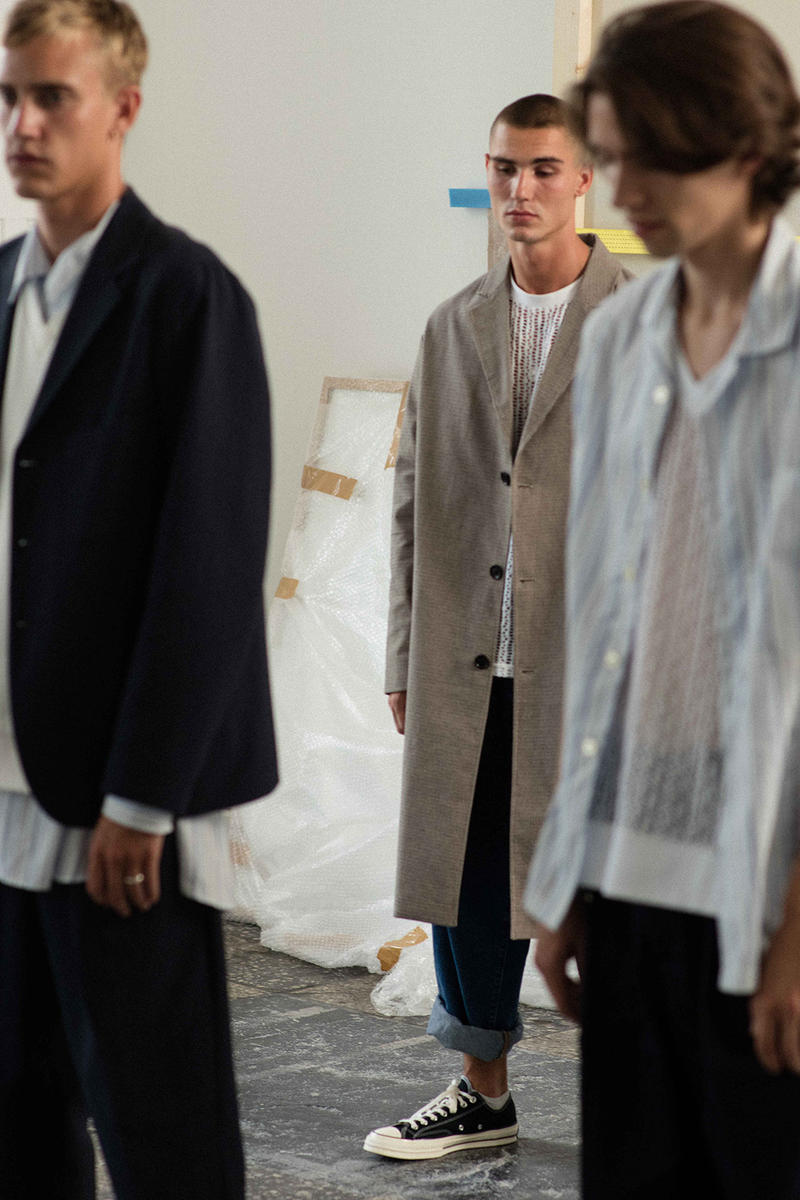 mfpen Spring/Summer 2019 Presentation Collection Lookbooks Copenhagen Fashion Week Look First Look Suit Shirt Tailoring Scandinavian