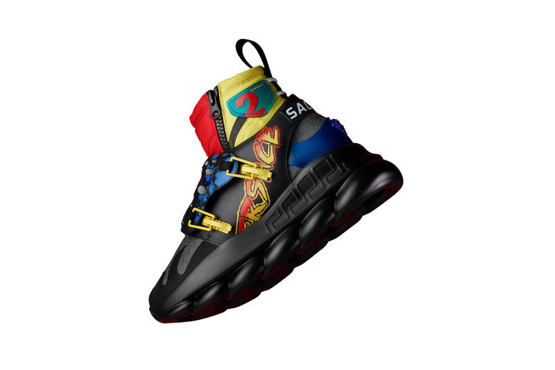 f6b27409efdd5 Migos sachee versace chain reaction tour exclusive aubrey and the three  sneakers shoe colorway drop release