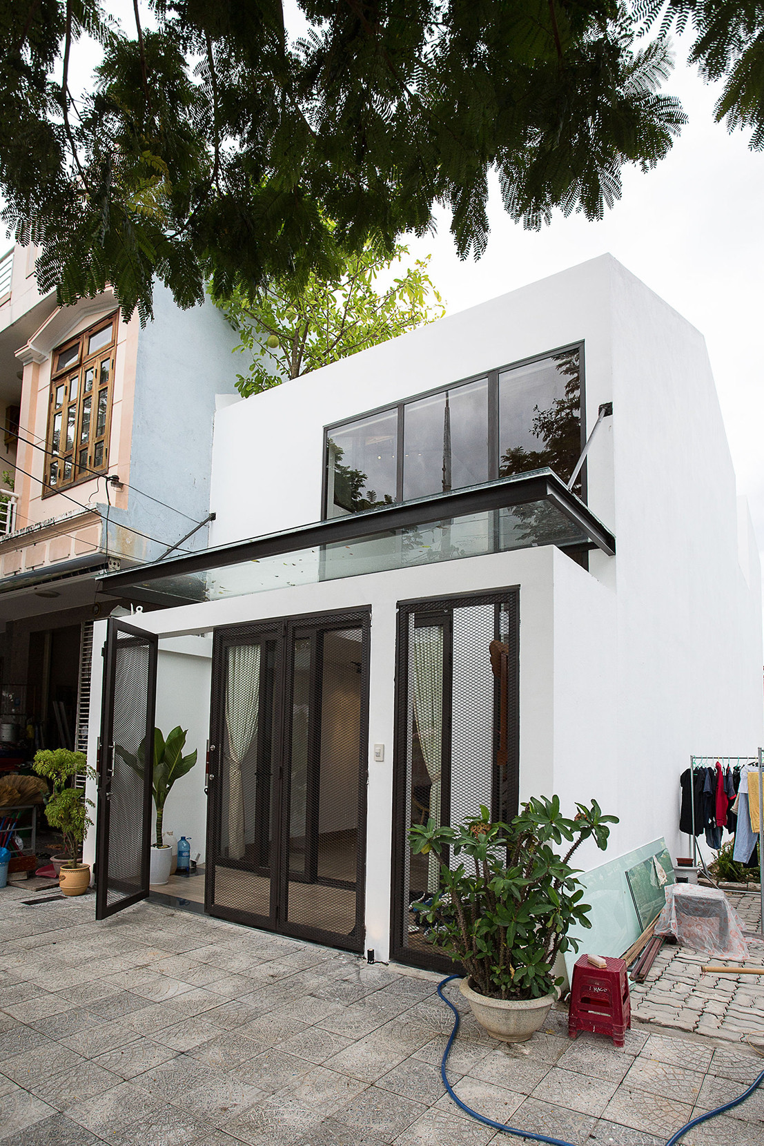 Minimalist House 85 Design Hòa Xuân Vietnam Homes Houses Modern Interior Exterior  Design