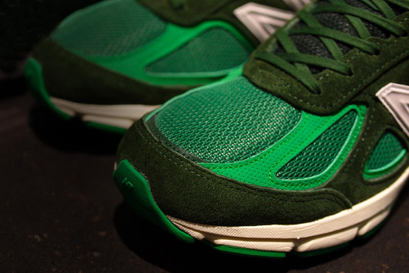 mita sneakers Sneakerwolf New Balance 990v4 bouncing frog green white release info sneakers