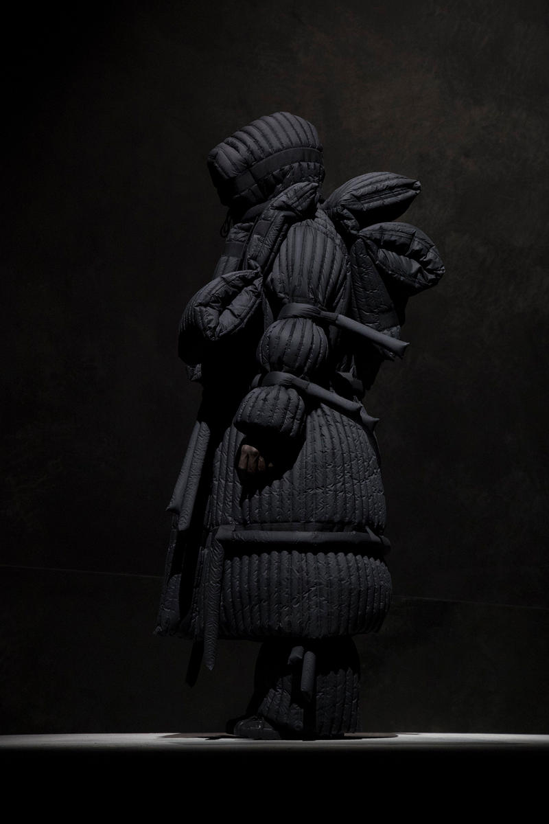 Craig green moncler genius 5 lookbook imagery closer look details release date drop info closer look collaboration collection puffer jacket down
