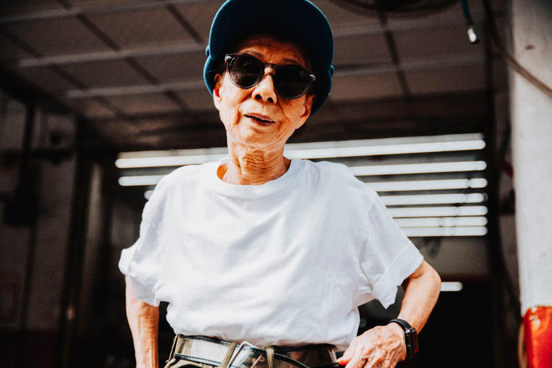 moon lin 90 year old streetwear hypebae interview taiwan style instagram  Supreme Stone Island Noah streetwear outfits interview