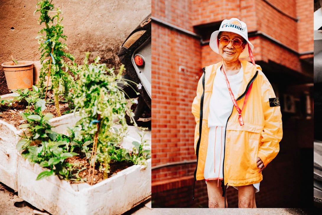 moon lin 90 year old streetwear hypebae interview taiwan style instagram  Supreme Stone Island Noah streetwear outfits interview