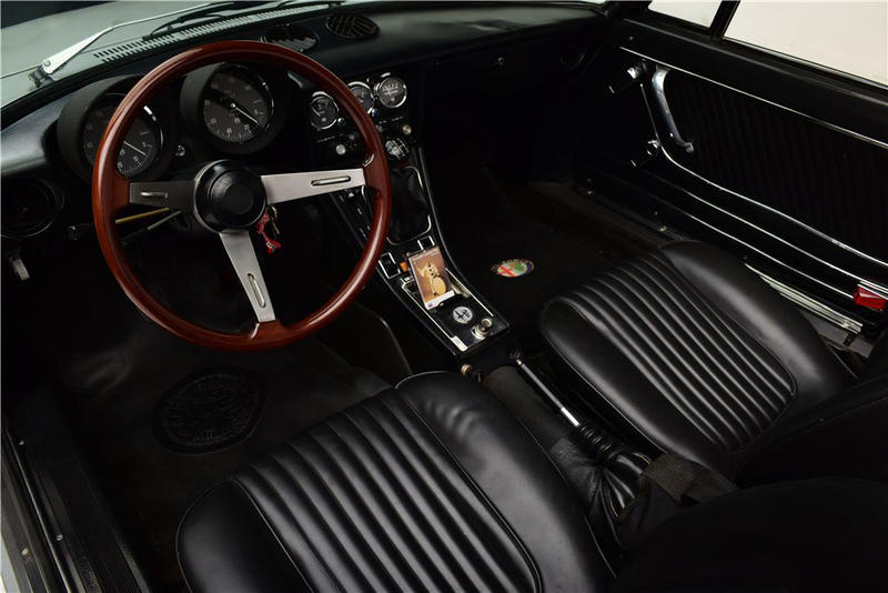 Muhammad Ali 1976 Alfa Romeo Spider Auction Details Barrett Jackson Las Vegas Convertible ALIBEE2