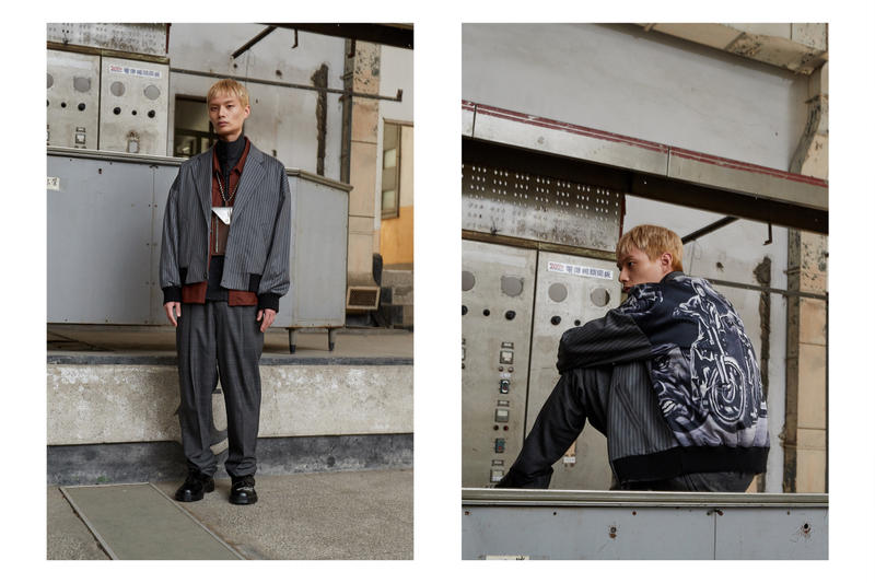 Necessity Sense Fall Winter 2018 Closed Window Collection Lookbook Taiwan Taiwanese NE.SENSE Retailer Clothing Line menswear chinese fashion brand label