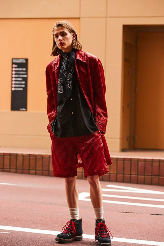 Needles Spring Summer 2019 Collection Lookbook Tracksuit Trackpant Jackets T shirt blazer shorts windbreaker hat