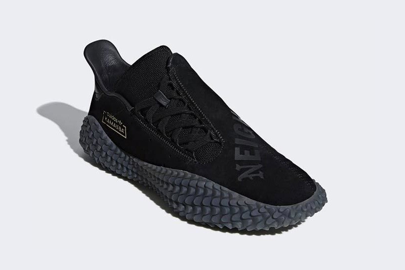 NEIGHBORHOOD x adidas Kamanda All-Black