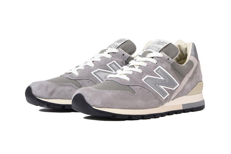 New Balance 996 30th Anniversary grey black colorways sneakers special edition japan release date price