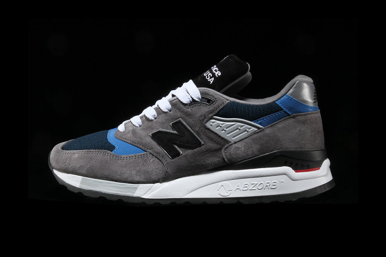5c1bb8085c72 New Balance Drops Made in USA 998 in Clean Grey & Blue Colorway. Footwear