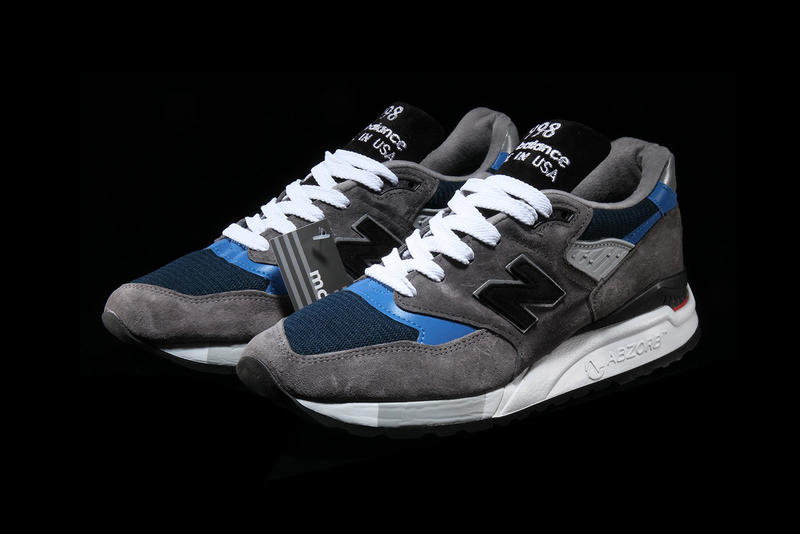 on sale 08651 7700f New Balance 998 Made in USA in Grey/Blue Details | HYPEBEAST