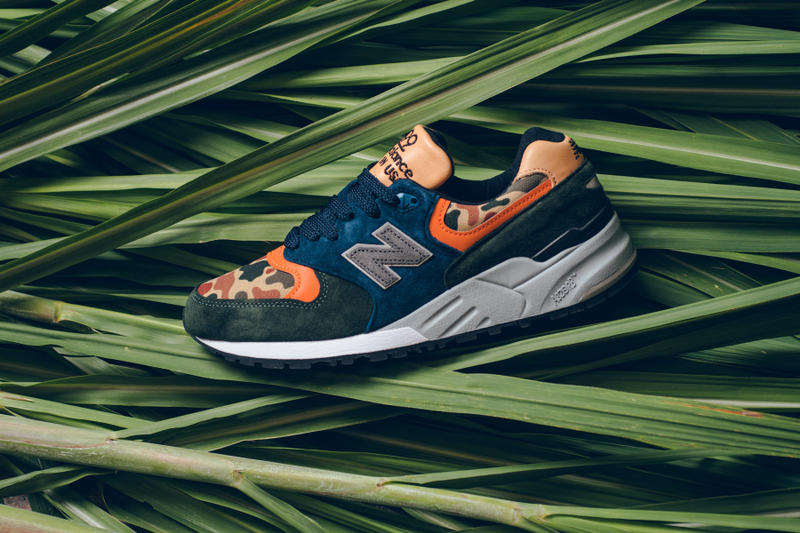 New Balance 999 Duck Camo Release Camoflauge Blue Tan Orange Black