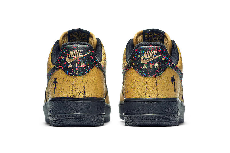 Nike Air Force 1 Low Caribana release info toronto caribbean gold blue red paint festival