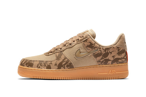 """Nike Unveils a """"Military Brown"""" Camo-Printed Air Force 1 Low"""