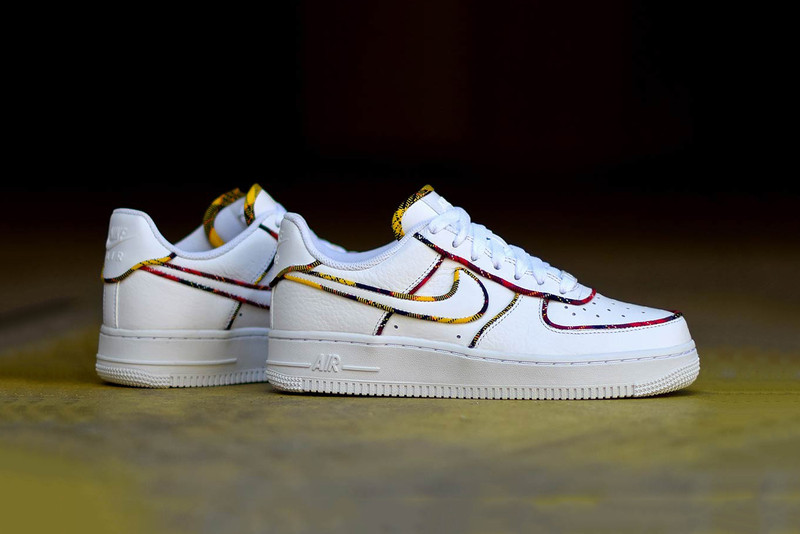 385f6fbeb24461 Nike Adorns the Air Force 1 Low With Tartan-Patterned Prints