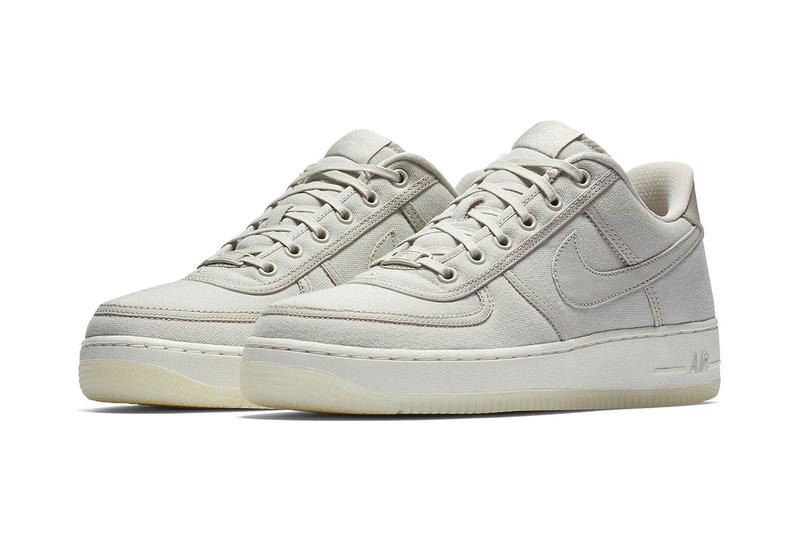 outlet store e48f2 58922 Nike Air Force 1 Low Retro QS Canvas Release December Sky December Sky-Off  White