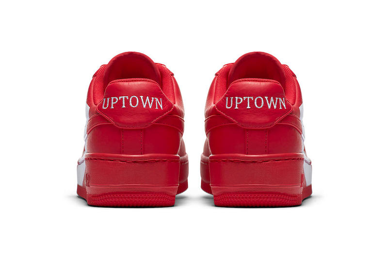 Nike Air Force 1 Low Upstep Release Uptown Red Black White