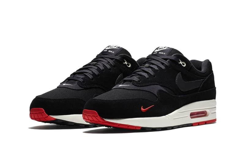 Nike Air Force 1 Mini Swoosh black red blue yellow sneakers