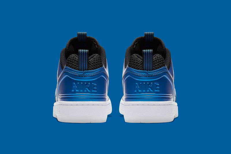 f57dbe81bc41e Nike Air Force 2 Low Foamposite rivals pack penny hardaway Neon Royal black  november 2018 release