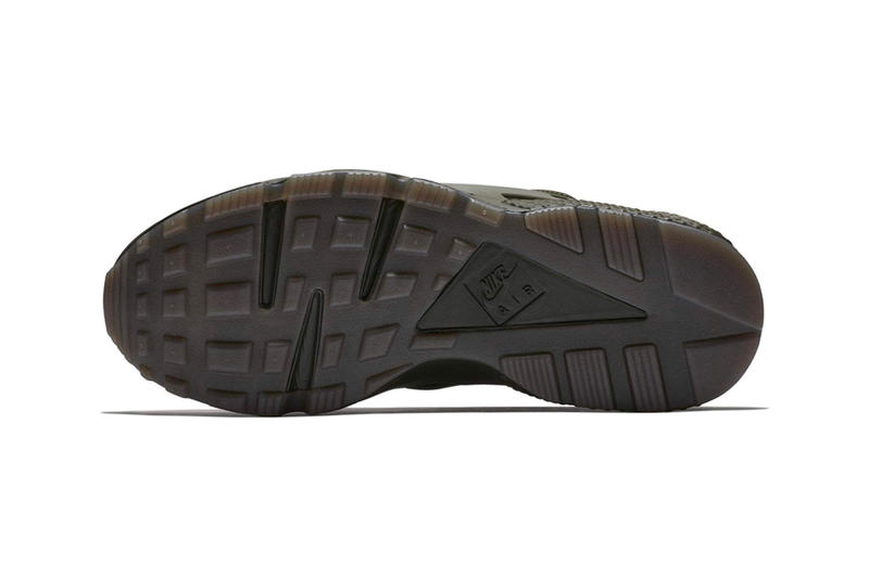 Nike Air Huarache Cargo Khaki Volt-Sequoia