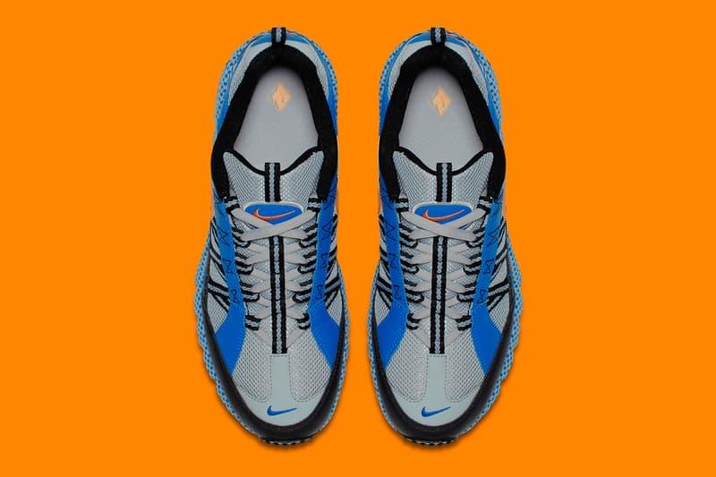 Nike Air Humara Blue Spark Release Info Metallic Silver Carotene Blue Spark Black Orange