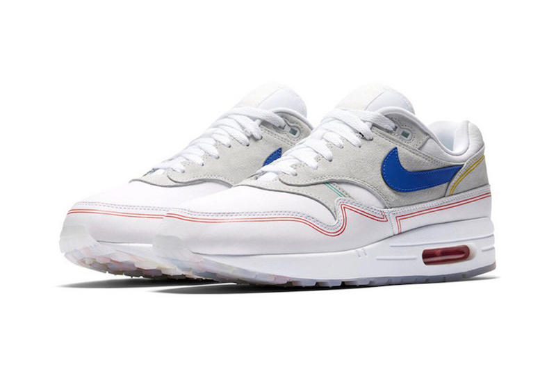 nike air max 1 centre pompidou footwear shoes sneakers