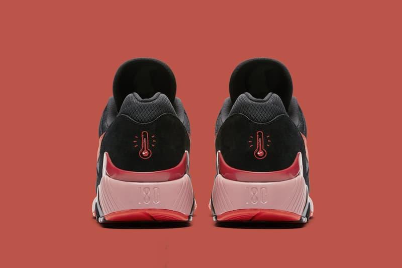 Nike Air Max 180 Team Orange University Red black release info sneakers