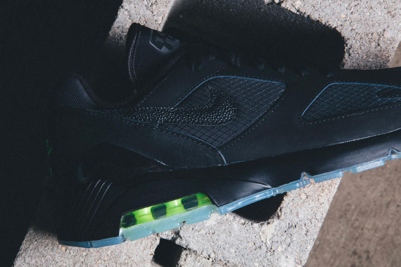 Nike Air Max 180 Black Volt closer look release info sneakers