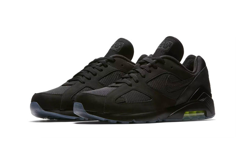 "Nike Air Max 180 ""Night Ops"" Release Date sneaker black volt price buy online purchase stockists kicks"