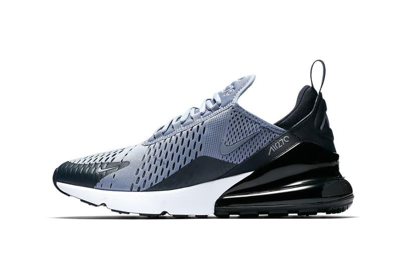 Nike Air Max 270 Ashen Slate black grey white sneakers