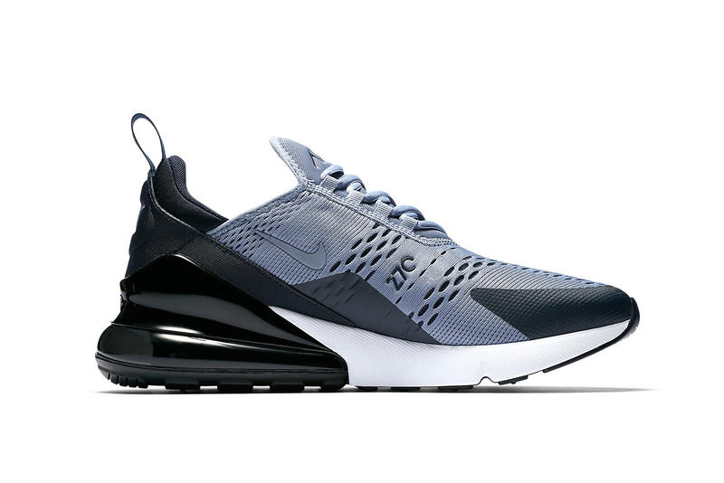 Nike Air Max 270 Ashen Slate black grey white sneakers