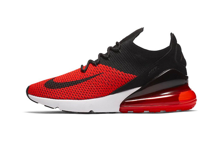 "more photos ec066 068d7 Nike Drops the Air Max 270 in the Ever-Popular ""Bred"" Color Scheme"
