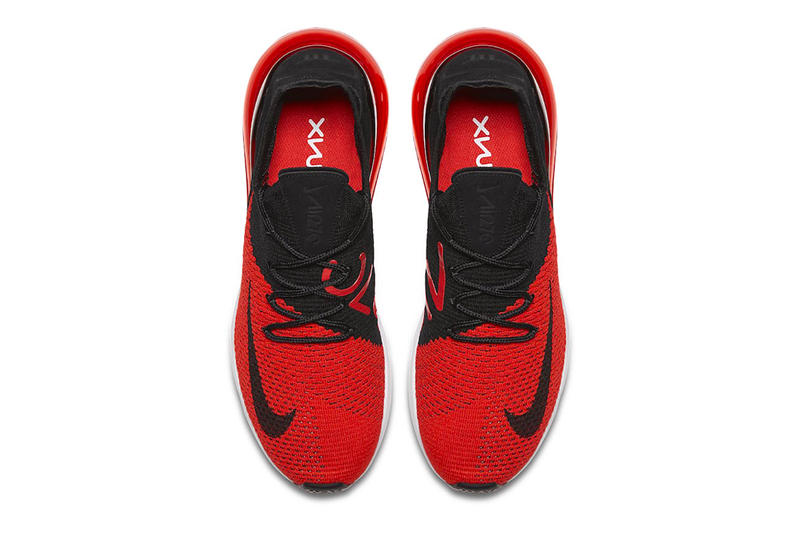 Nike Air Max 270 Bred Chile Red Challenge Red White Black release info sneakers
