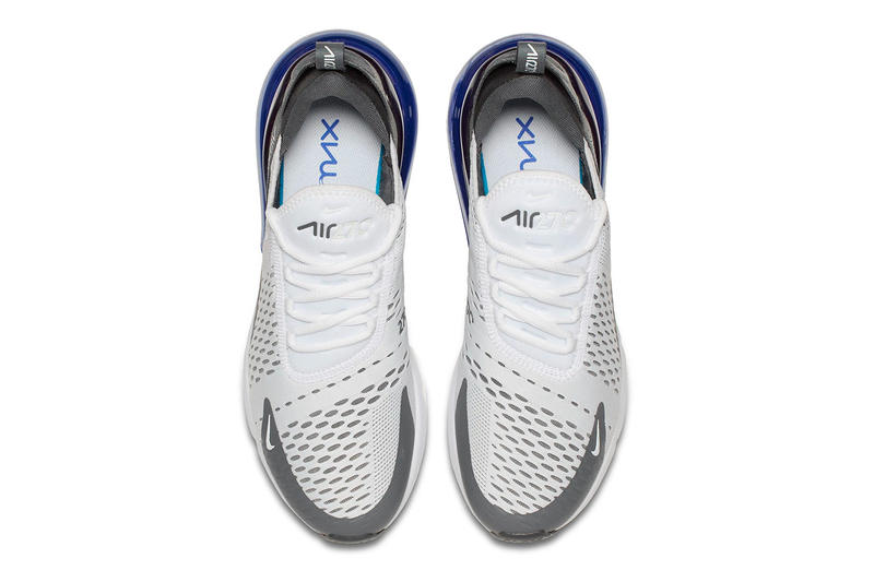 """Nike Air Max 270 """"Grey/Persian Violet"""" Release date colorway available now purchase"""