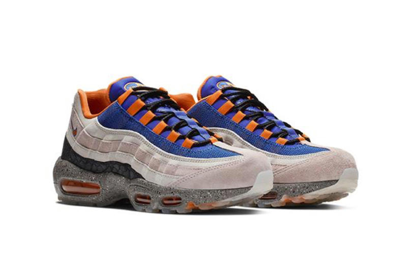 Nike Air Max 95 ACG Mowabb Champagne Safety Orange Sport Royal sneakers release info