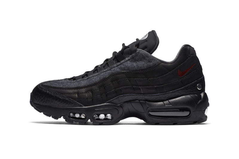 buy popular d44b8 21fff Nike s Air Max 95 Gets Coated in Wooly Grey and Black