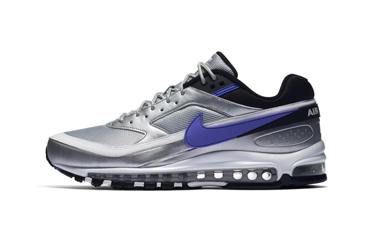separation shoes d25de e196e Nike's Air Max 97 BW Steps out in Metallic Silver